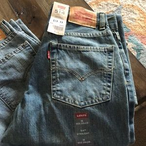 Boys 16 Levi's two pair brand new with tags